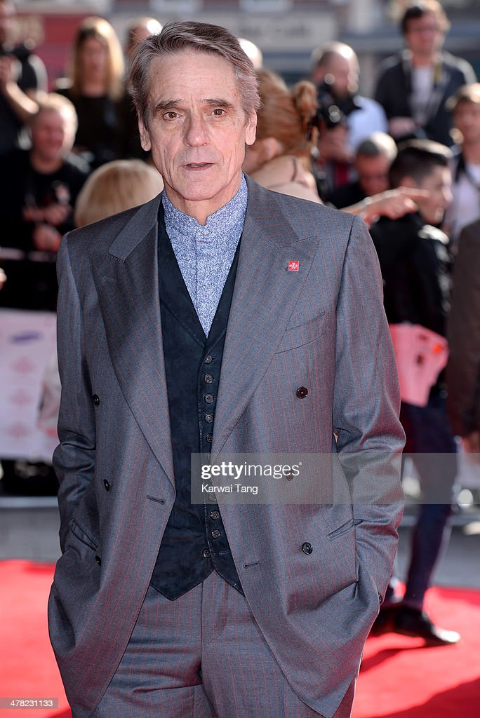 Jeremy Irons attends the Prince's Trust & Samsung Celebrate Success awards at Odeon Leicester Square on March 12, 2014 in London, England.