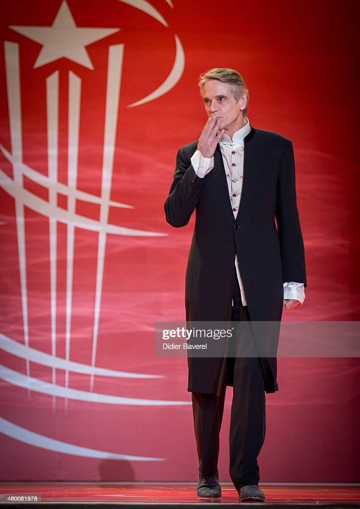 Jeremy Irons attends the Tribute to Jeremy Irons as part of the 14th Marrakech International Film Festival December 6, 2014 in Marrakech, Morocco.