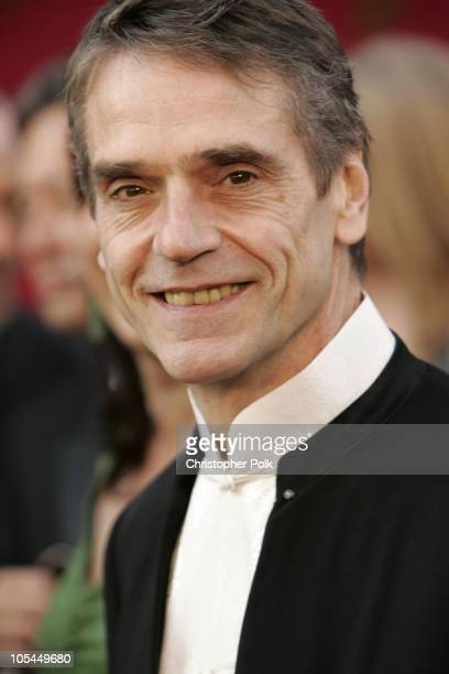 Jeremy Irons during The 77th Annual Academy Awards Arrivals at Kodak Theatre in Los Angeles California United States