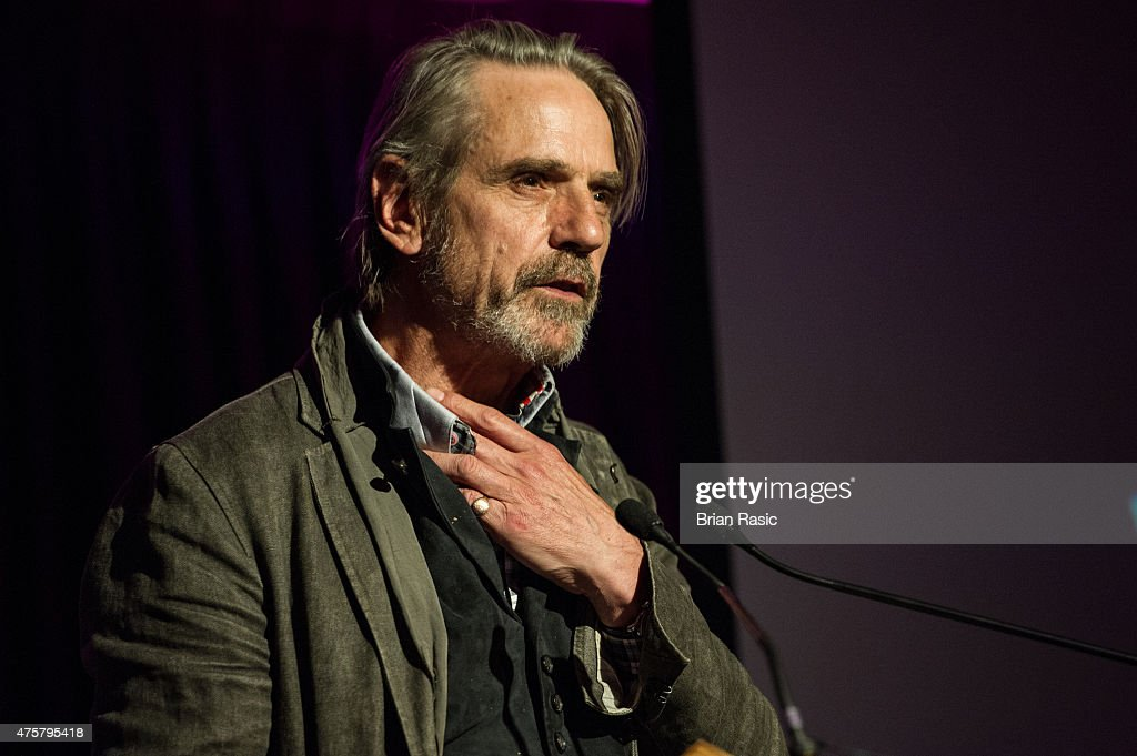 Jeremy Irons speaks during Amnesty International UK celebrate 10th anniversary of headquaters on June 3, 2015 in London, England.