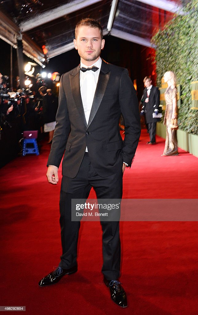 <a gi-track='captionPersonalityLinkClicked' href=/galleries/search?phrase=Jeremy+Irvine&family=editorial&specificpeople=7595423 ng-click='$event.stopPropagation()'>Jeremy Irvine</a> arrives at The London Evening Standard Theatre Awards in partnership with The Ivy at The Old Vic Theatre on November 22, 2015 in London, England.