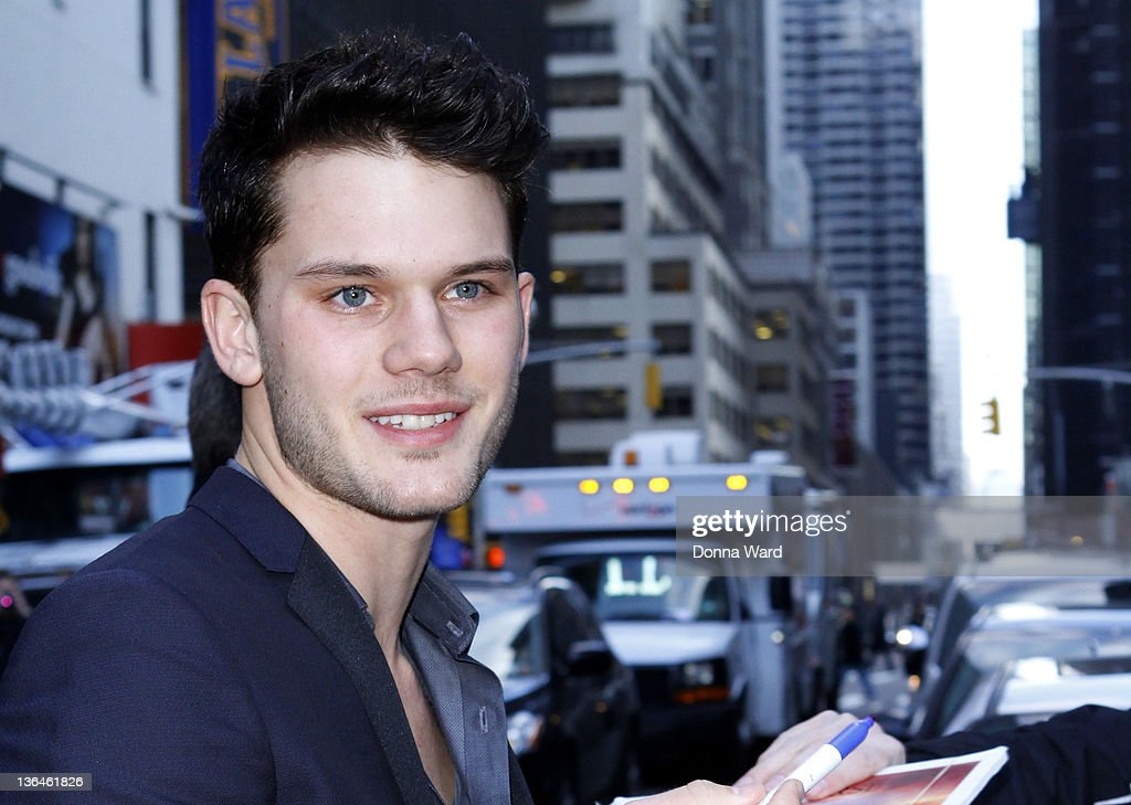 Jeremy Irvine arrives for 'The Late Show with David Letterman' at Ed Sullivan Theater on January 5, 2012 in New York City.