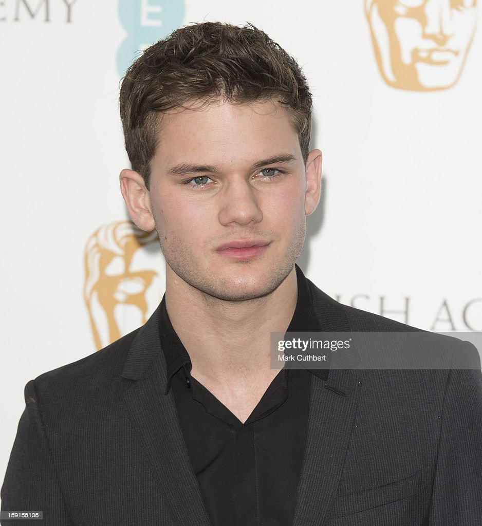 Jeremy Irvine attends as the nominations for the EE British Academy Film Awards are announced on January 9, 2013 in London, England.