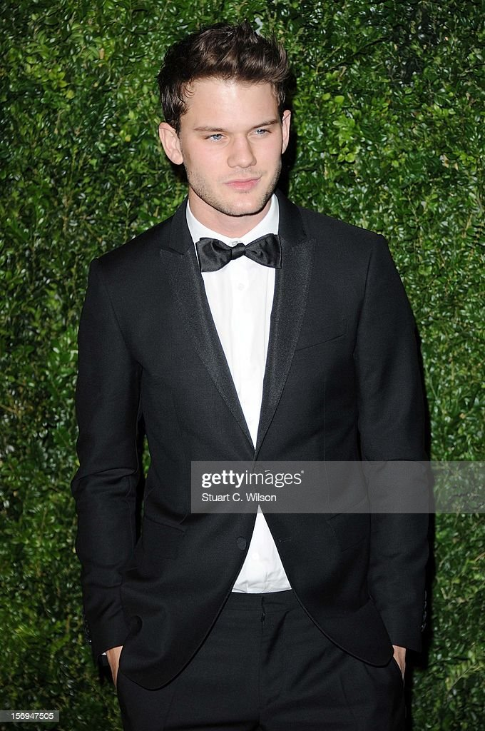 Jeremy Irvine attends the 58th London Evening Standard Theatre Awards in association with Burberry on November 25, 2012 in London, England.