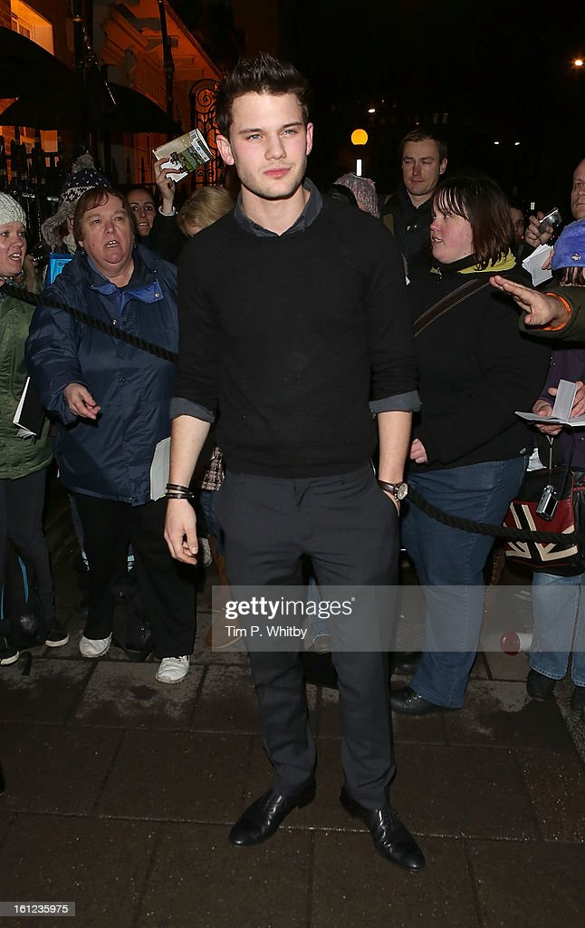 <a gi-track='captionPersonalityLinkClicked' href=/galleries/search?phrase=Jeremy+Irvine&family=editorial&specificpeople=7595423 ng-click='$event.stopPropagation()'>Jeremy Irvine</a> attends the Charles Finch and Chanel pre-BAFTA dinner at Annabels on February 9, 2013 in London, England.