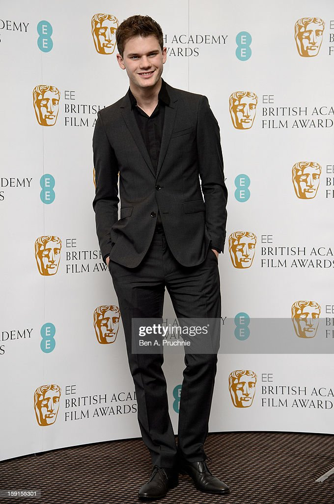 <a gi-track='captionPersonalityLinkClicked' href=/galleries/search?phrase=Jeremy+Irvine&family=editorial&specificpeople=7595423 ng-click='$event.stopPropagation()'>Jeremy Irvine</a> attends The EE British Academy Film Awards nominations announcement at BAFTA on January 9, 2013 in London, England