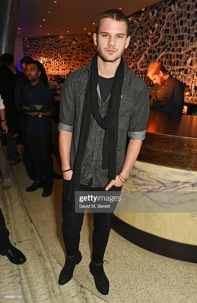 <a gi-track='captionPersonalityLinkClicked' href=/galleries/search?phrase=Jeremy+Irvine&family=editorial&specificpeople=7595423 ng-click='$event.stopPropagation()'>Jeremy Irvine</a> attends the Nobu Berkeley St 10th anniversary party supported by Malone Souliers and Ciroc Vodka on November 5, 2015 in London, England.