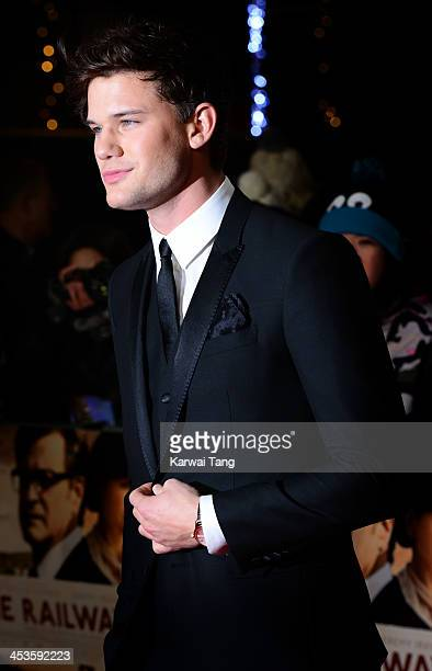 Jeremy Irvine attends the UK Premiere of 'The Railway Man' at Odeon West End on December 4 2013 in London England