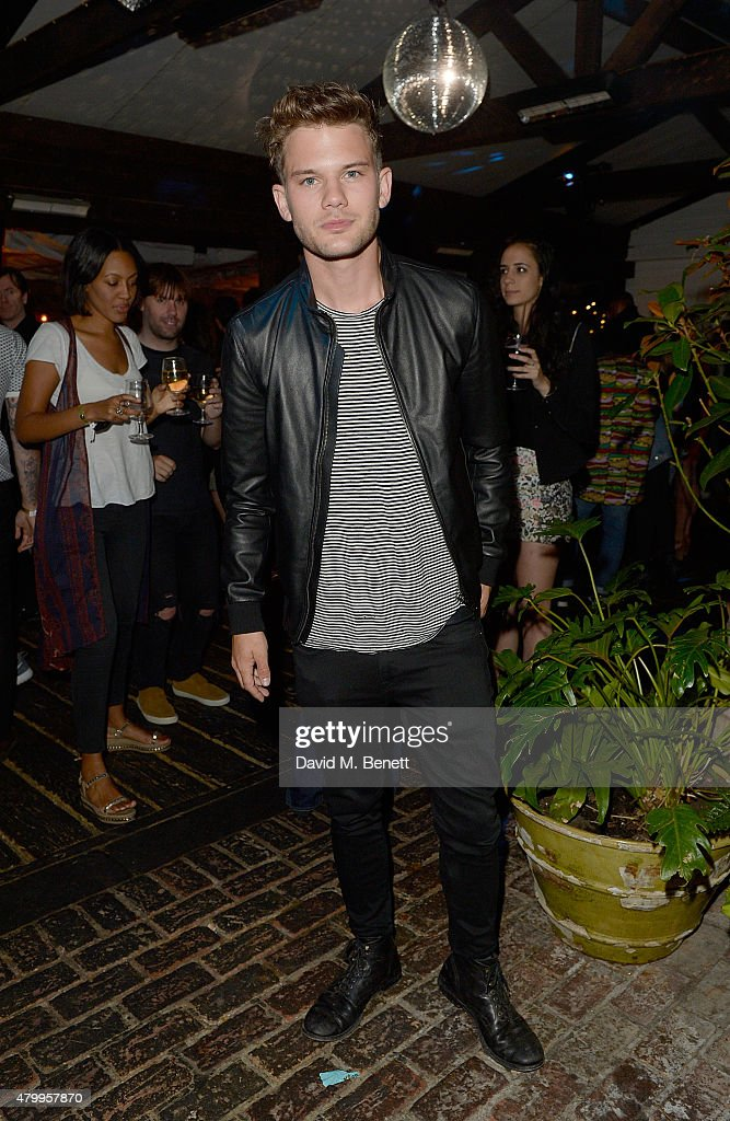 Jeremy Irvine attends the Warner Summer Party in association with British GQ at Shoreditch House on July 8, 2015 in London, England.