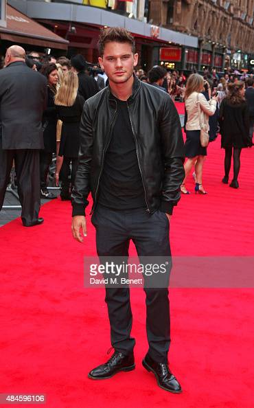 Jeremy Irvine attends the World Premiere of 'The Bad Education Movie' at Vue West End on August 20 2015 in London England