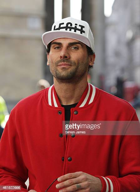 Jeremy Jackson sighting at the BBC on January 14 2015 in London England