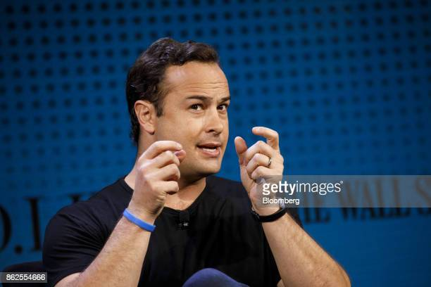 Jeremy Johnson chief executive officer of Andela Inc speaks during the Wall Street Journal DLive global technology conference in Laguna Beach...