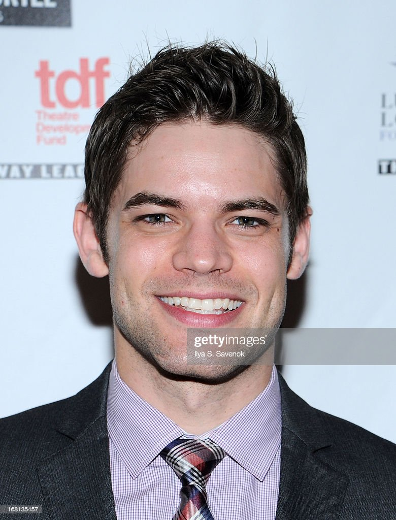 Jeremy Jordan attends the 28th Annual Lucille Lortel Awards at NYU Skirball Center on May 5, 2013 in New York City.