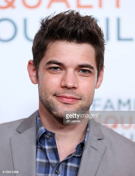 Jeremy Jordan attends the Family Equality Council's Impact Awards at the Beverly Hilton Hotel on March 12 2016 in Beverly Hills California