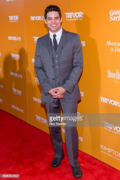 Jeremy Jordan attends TrevorLIVE New York 2017 at Marriott Marquis Times Square on June 19 2017 in New York City