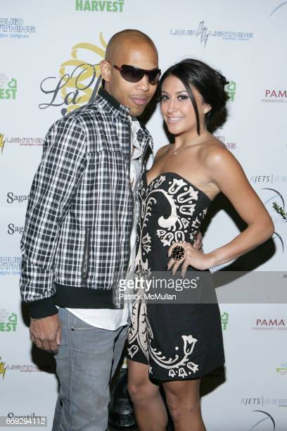 Jeremy Karr and Lexa Michelle attend Grand Opening of La Pomme at 37 W 26th St on September 17 2009 in New York City
