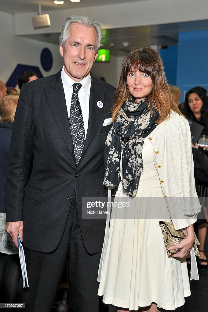 Jeremy King and Lauren Gurvich attend the Luxury Briefing Awards on June 11, 2013 in London, England.