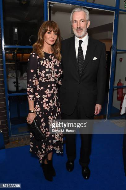 Jeremy King and Lauren Gurvich attends a dinner hosted by Jonathan Newhouse and Albert Read for Edward Enninful to celebrate the December issue of...