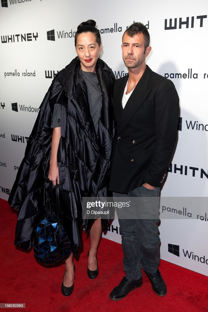 Jeremy Kost (R) and guest attend the Whitney Museum of American Art's 2012 Studio Party at The Whitney Museum of American Art on December 11, 2012 in New York City.