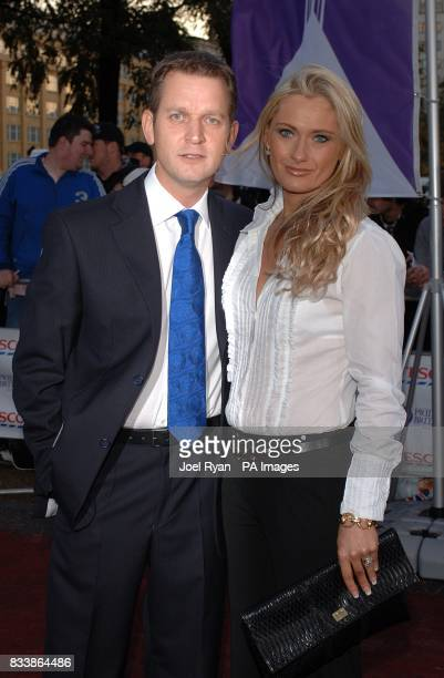 Jeremy Kyle and Carla Germaine arrive for the Pride of Britain Awards 2007 The London Studios Upper Ground London SE1