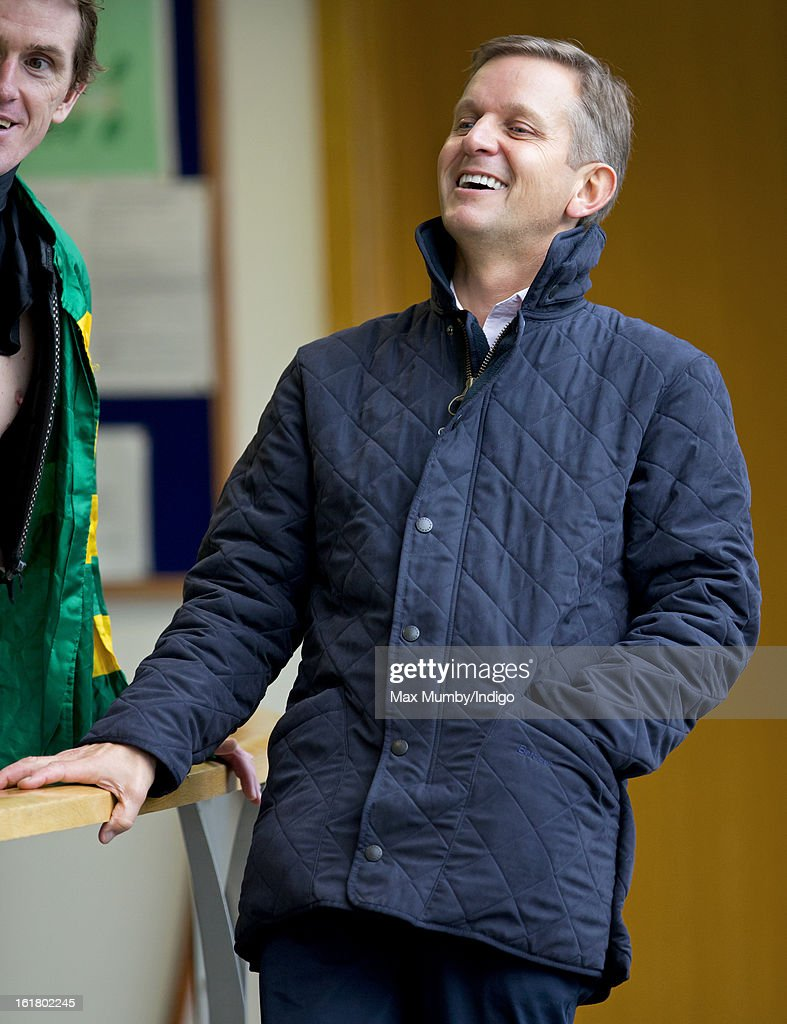 Jeremy Kyle attends the Betfair Ascot Chase Day at Ascot Racecourse on February 16, 2013 in Ascot, England.