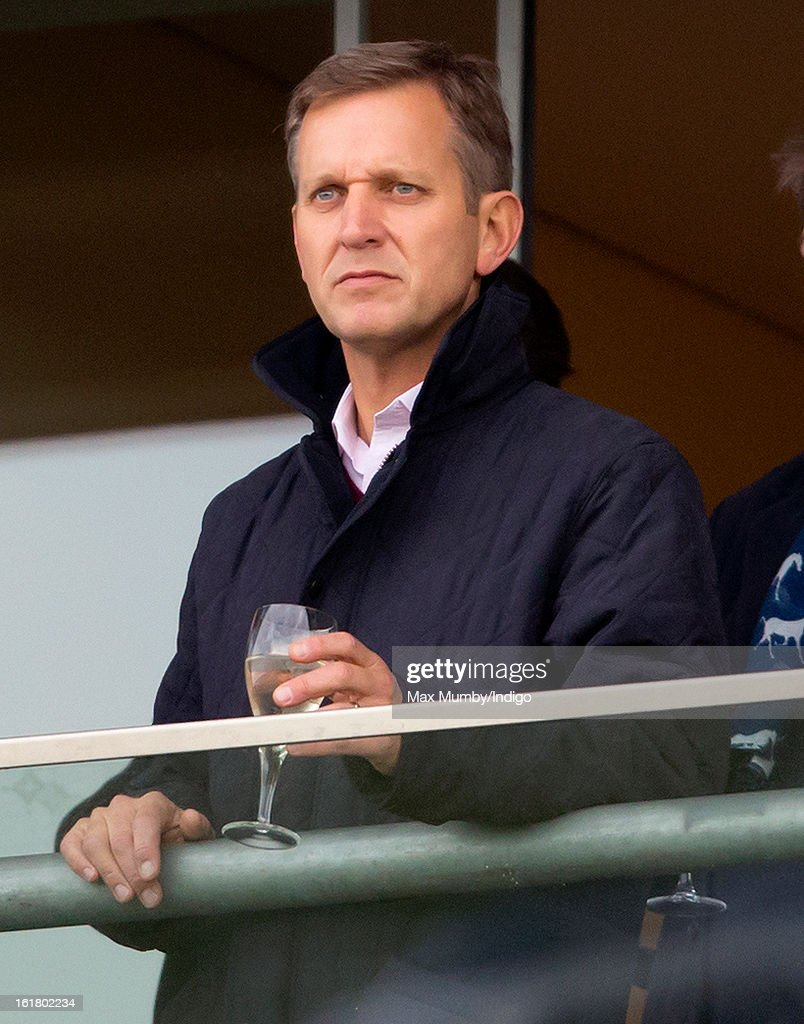 <a gi-track='captionPersonalityLinkClicked' href=/galleries/search?phrase=Jeremy+Kyle&family=editorial&specificpeople=680413 ng-click='$event.stopPropagation()'>Jeremy Kyle</a> watches 'Cue Card' win the Betfair Ascot Steeple Chase at Ascot Racecourse on February 16, 2013 in Ascot, England.