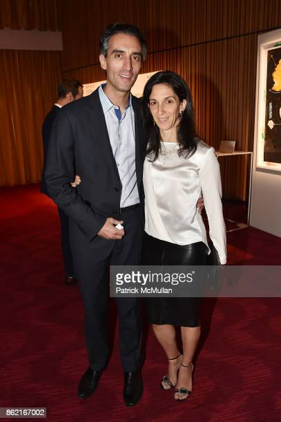 Jeremy Levine and Yael Taqqu attend the NYSCF Gala Science Fair at Jazz at Lincoln Center on October 16 2017 in New York City