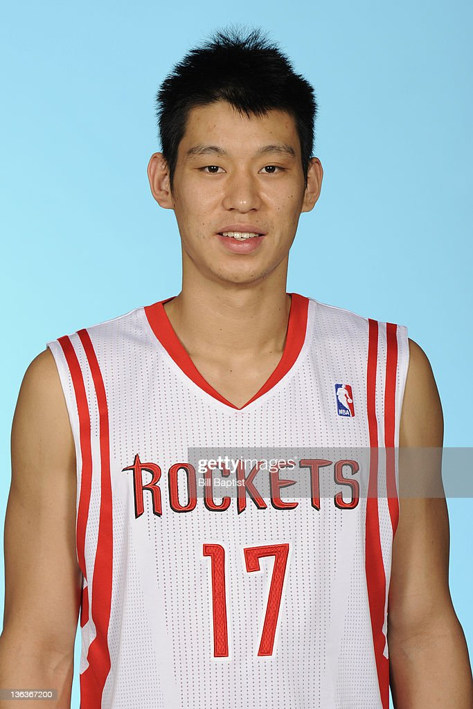 Jeremy Lin #17 of the Houston Rockets poses for a portrait during NBA Media Day on December 15, 2011 at the Toyota Center in Houston, Texas.