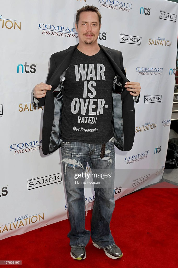 Jeremy LOndon attends the 'Edge Of Salvation' Los Angeles premiere at ArcLight Cinemas on December 6, 2012 in Hollywood, California.