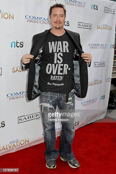 Jeremy LOndon attends the 'Edge Of Salvation' Los Angeles premiere at ArcLight Cinemas on December 6 2012 in Hollywood California
