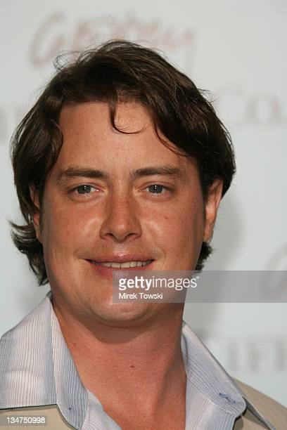Jeremy London during Tiffany and Co celebrates the launch of Frank Gehry's premiere collection at Tiffany and Co Store in Beverly Hills California...