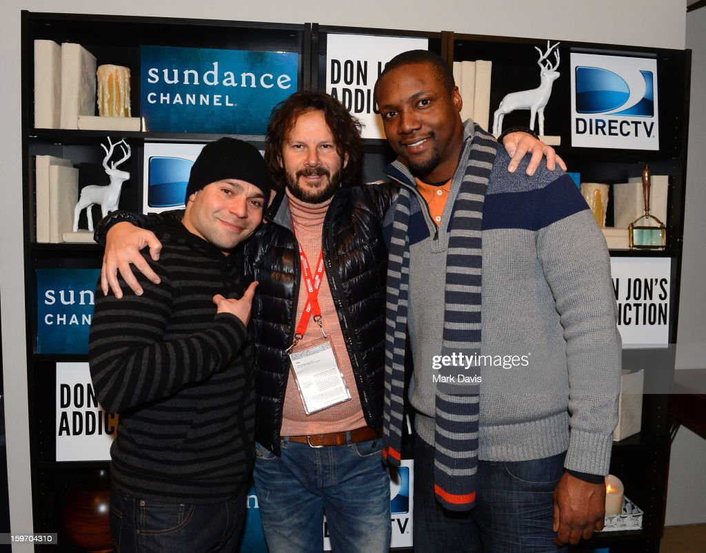 Jeremy Luke, Ram Bergman and Rob Brown attend the 'Don Jon's Addiction' premiere party hosted by DirecTV and Sundance Channel on January 18, 2013 in Park City, Utah.