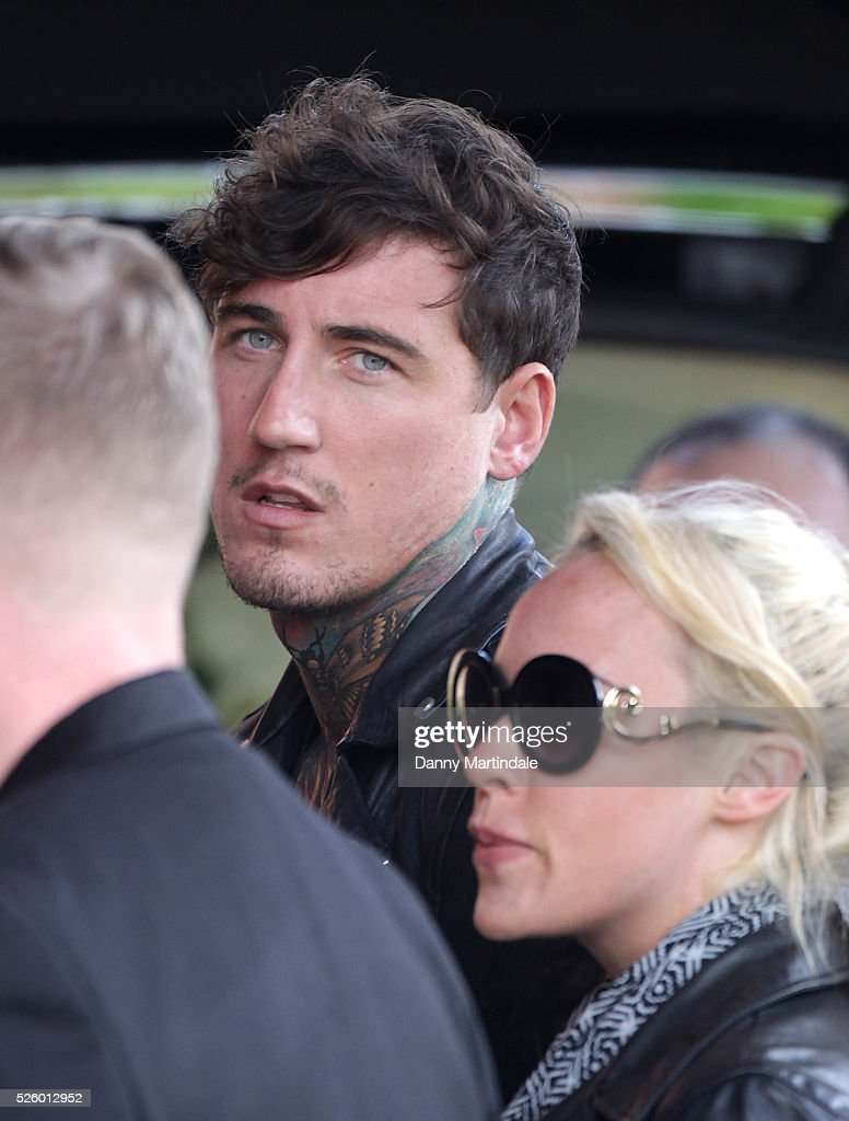 <a gi-track='captionPersonalityLinkClicked' href=/galleries/search?phrase=Jeremy+McConnell&family=editorial&specificpeople=15311380 ng-click='$event.stopPropagation()'>Jeremy McConnell</a> attends the funeral of entertainer, producer and reality television star David Gest at Golders Green Crematorium on April 29, 2016 in London, England.