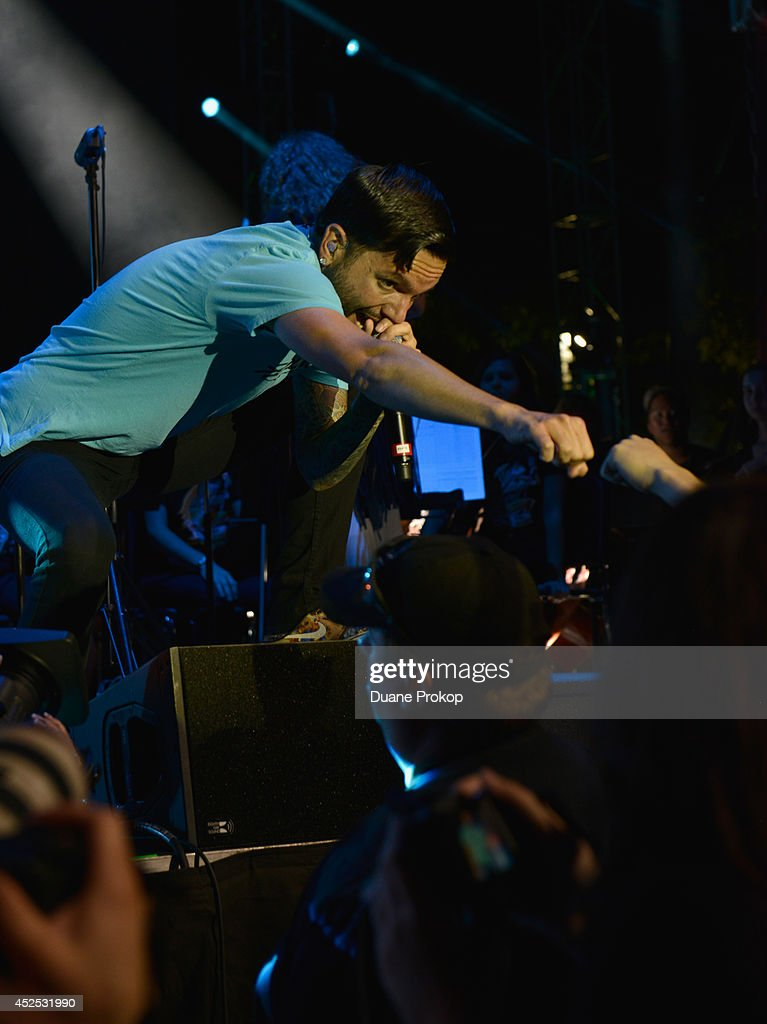 <a gi-track='captionPersonalityLinkClicked' href=/galleries/search?phrase=Jeremy+McKinnon&family=editorial&specificpeople=5731366 ng-click='$event.stopPropagation()'>Jeremy McKinnon</a> of A Day To Remember at the 2014 Gibson Brands AP Music Awards>> at the Rock and Roll Hall of Fame and Museum on July 21, 2014 in Cleveland, Ohio.