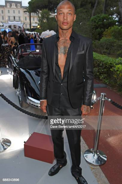 Jeremy Meeks attends the amfAR Gala Cannes 2017 at Hotel du CapEdenRoc on May 25 2017 in Cap d'Antibes France