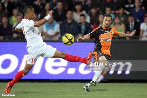 Jeremy MOREL / Franck BERIA û Lorient / Lille 32 eme journee de Ligue 1