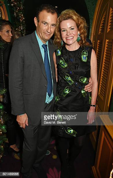 Jeremy Morris and Erin Morris attend the David Morris and Agent Provocateur drinks reception hosted by Jeremy Morris and Lisa Tchenguiz at Annabel's...