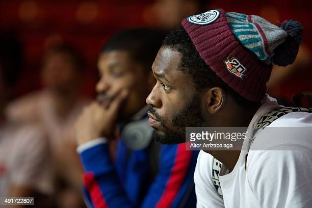 Jeremy Pargo #11 of CSKA Moscow during the Turkish Airlines EuroLeague Final Four Maccabi CSKA Moscow Practice at Mediolanum Forum on May 17 2014 in...