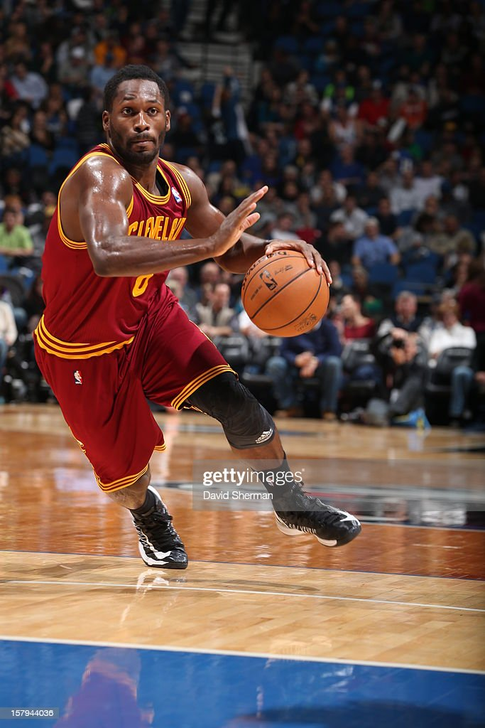 Jeremy Pargo #8 of the Cleveland Cavaliers drives to the basket against the Minnesota Timberwolves during the game on December 7, 2012 at Target Center in Minneapolis, Minnesota.