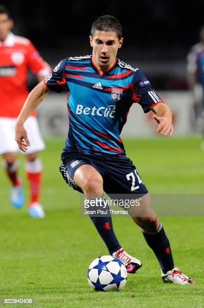 Jeremy PIED Lyon / Benfica Champions League