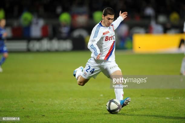 Jeremy PIED Lyon / Auxerre 19eme journee de Ligue 1
