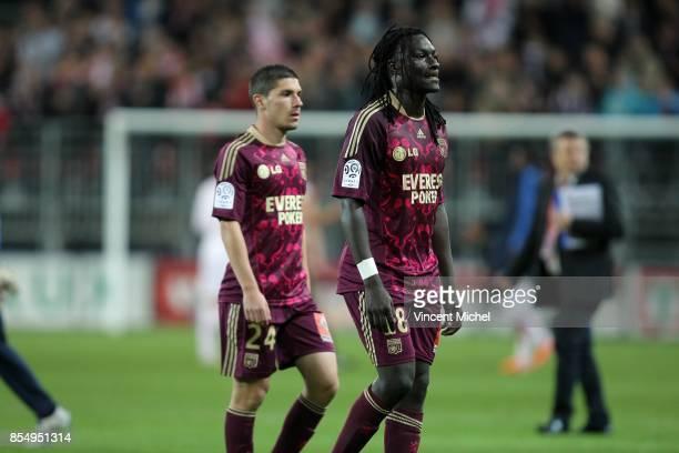 Jeremy PIED / Bafetimbi GOMIS Brest / Lyon 36eme journee de Ligue 1