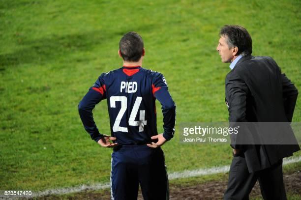 Jeremy PIED / Claude PUEL Lyon / Hapoel Tel Aviv Champions League