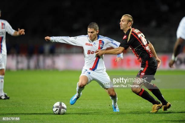 Jeremy PIED / Danijel LJUBOJA Lyon / Nice 13e journee Ligue 1