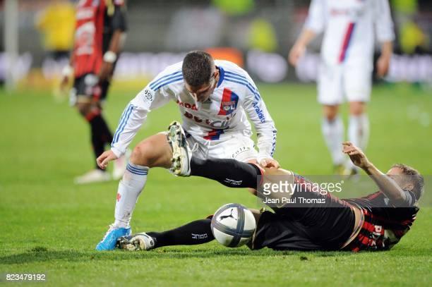 Jeremy PIED / Francois CLERC Lyon / Nice 13e journee Ligue 1