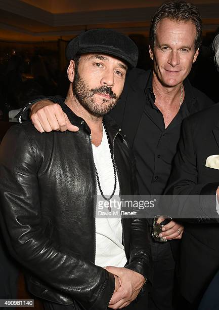 Jeremy Piven and Rande Gerber attend the London launch of Casamigos Tequila and Cindy Crawford's book 'Becoming' hosted by Rande Gerber George...