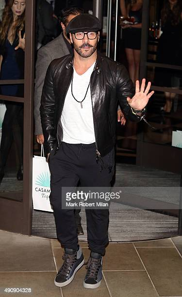 Jeremy Piven attending the Cindy Crawford 'Becoming' book launch and Casamigos Tequila launch party afterparty on October 1 2015 in London England