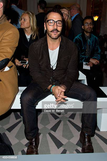 Jeremy Piven attends Pringle of Scotland SS15 show during London Fashion Week at Claridges Hotel on September 14 2014 in London England
