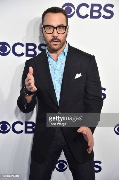 Jeremy Piven attends the 2017 CBS Upfront on May 17 2017 in New York City