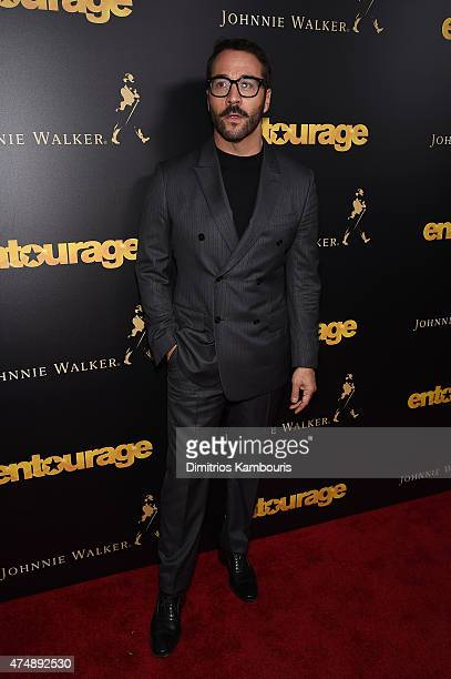 Jeremy Piven attends the 'Entourage' New York Premiere at Paris Theater on May 27 2015 in New York City